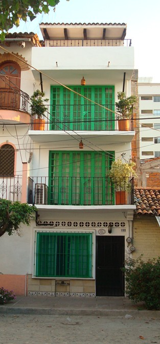 Front View of Casa Franca