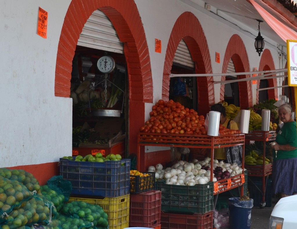 Picture of produce market